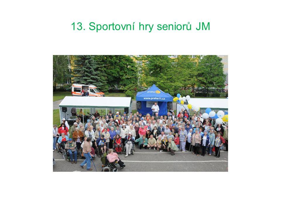 13. Sportovní hry seniorů JM