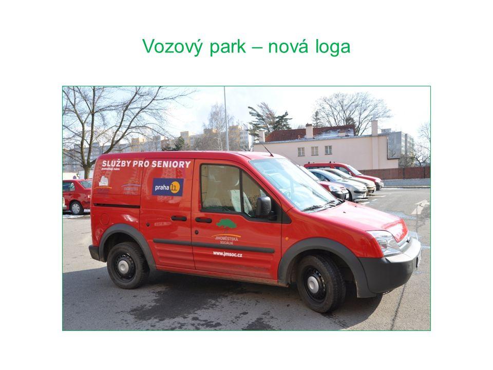 Vozový park – nová loga
