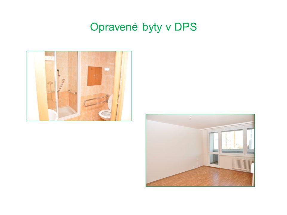 Opravené byty v DPS