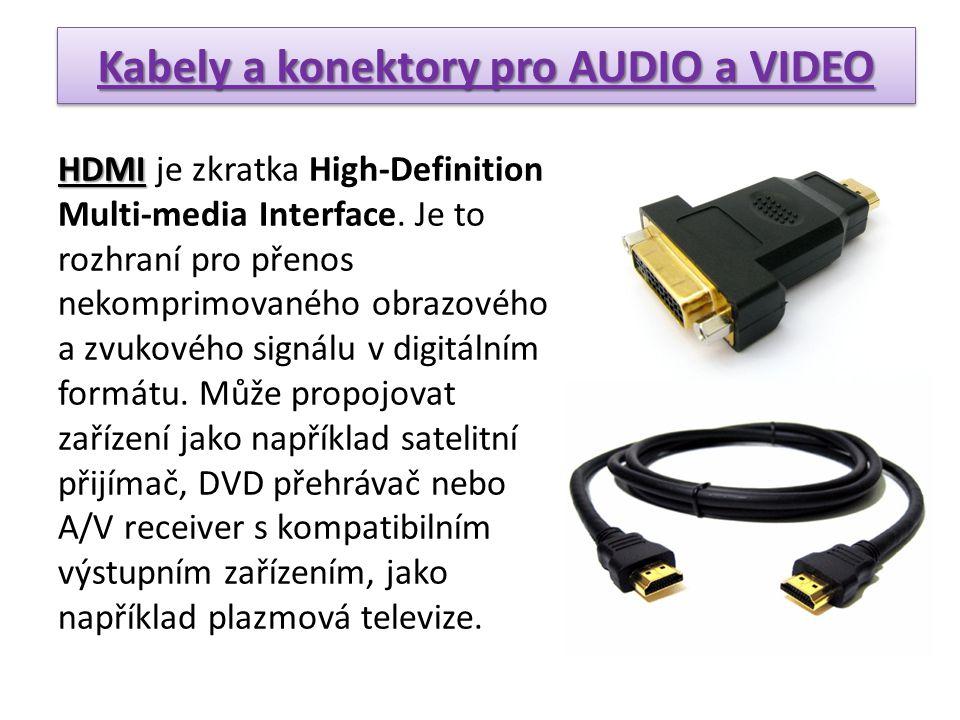 Digital Visual Interface DVI Digital Visual Interface (zkratka DVI) je rozhraní pro propojení videozařízení s počítačem.