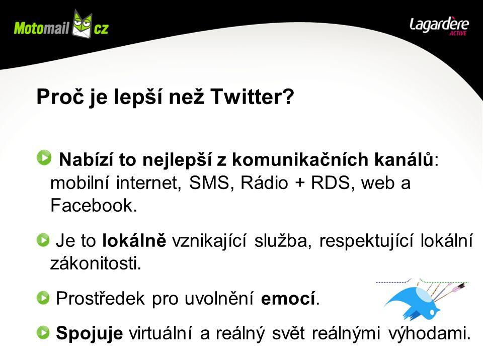 Proč je lepší než Twitter.