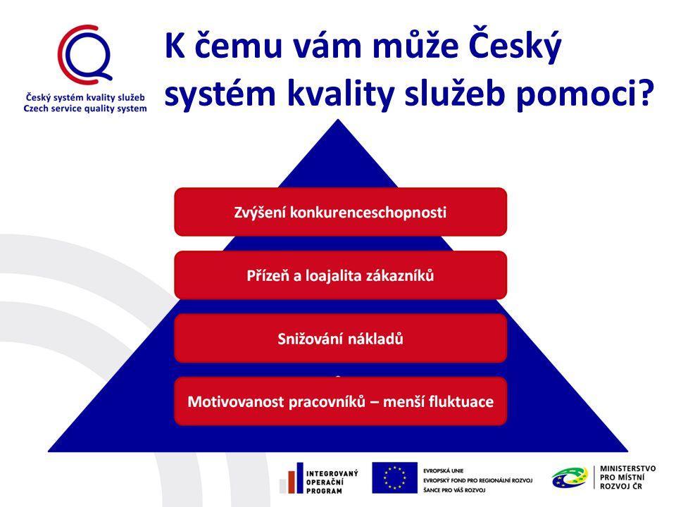 K čemu vám může Český systém kvality služeb pomoci