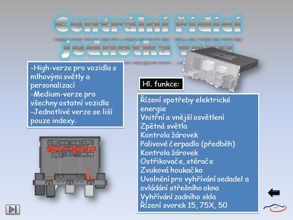 V panelu přístrojů jsou integrovány následující součásti: - řídicí jednotka panelu přístrojů J285 -řídicí jenotka imobilizér J362 - rychloměr - otáčkoměr - ukazatel stavu paliva - ukazatel teploty chladicí kapaliny - kontrolky - vícefunkční ukazatel V panelu přístrojů jsou integrovány následující součásti: - řídicí jednotka panelu přístrojů J285 -řídicí jenotka imobilizér J362 - rychloměr - otáčkoměr - ukazatel stavu paliva - ukazatel teploty chladicí kapaliny - kontrolky - vícefunkční ukazatel Všechny kontrolky jsou opatřeny světelnými diodami (LED).