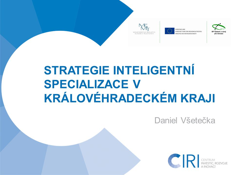 www.cirihk.cz Kontext RIS3 1 - Switzerland 148 - Chad 40 29 53