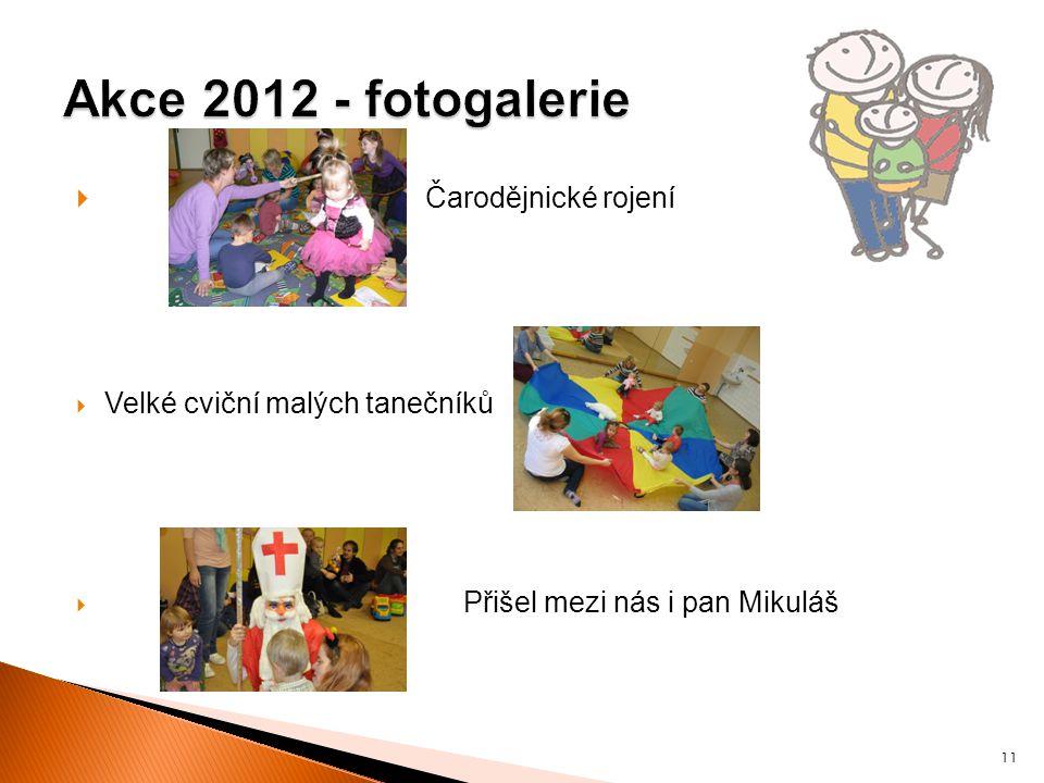  Čarodějnické rojení  Velké cviční malých tanečníků  Přišel mezi nás i pan Mikuláš 11