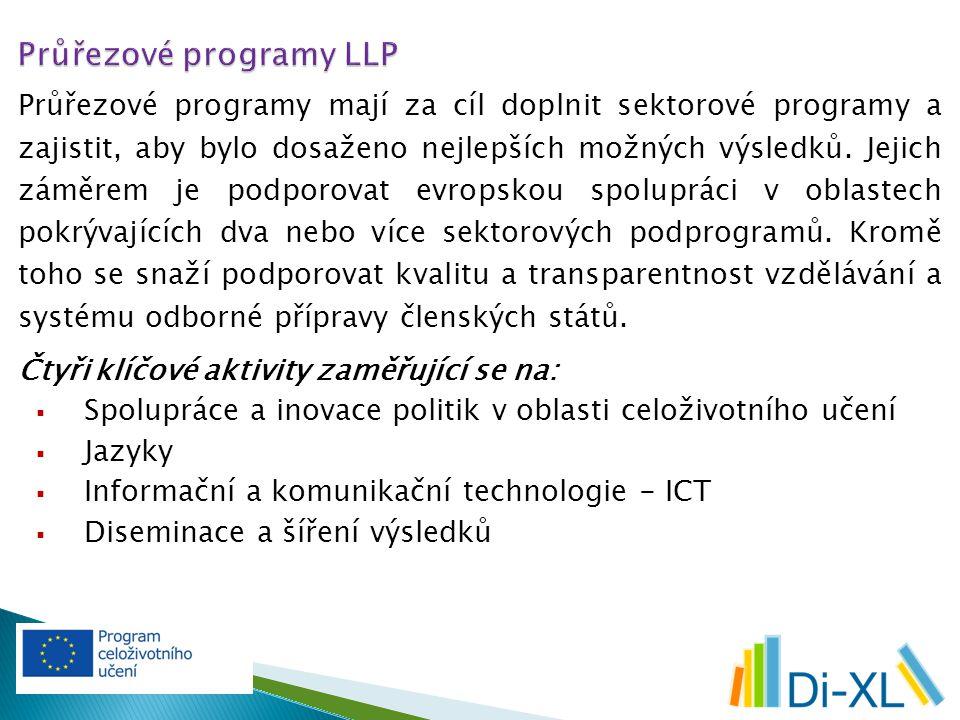 Průřezové programy mají za cíl doplnit sektorové programy a zajistit, aby bylo dosaženo nejlepších možných výsledků.