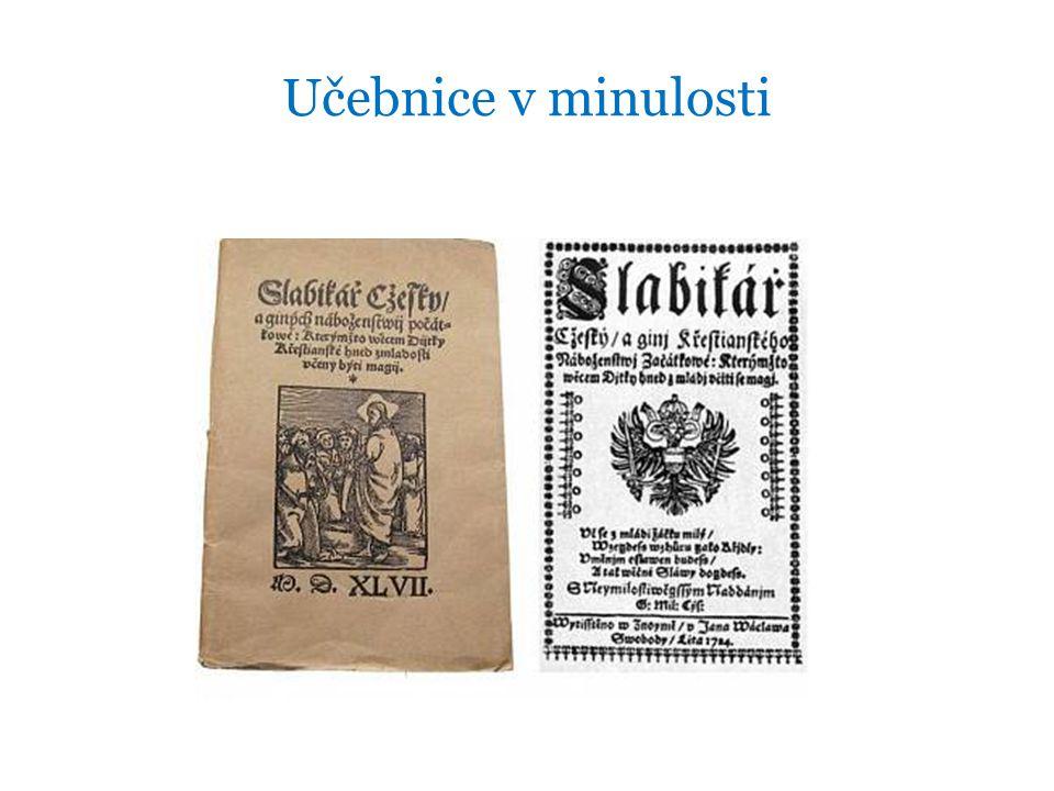 Učebnice v minulosti