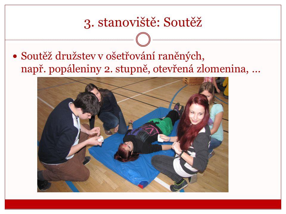 """2. stanoviště: Nácvik KPR z projektu """"PRO ŽIVOT"""""""