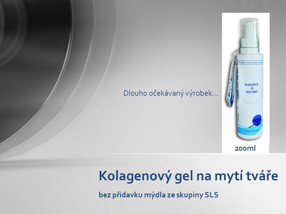 Kolagenový gel na mytí tváře bez přidavku mýdla ze skupiny SLS 200ml Dlouho očekávaný výrobek...