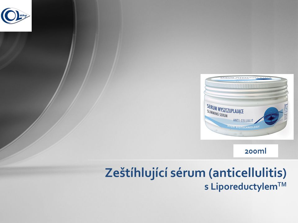 Zeštíhlující sérum (anticellulitis) s Liporeductylem TM 200ml