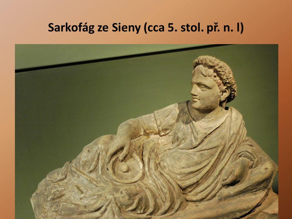 Sarkofág ze Sieny (cca 5. stol. př. n. l)