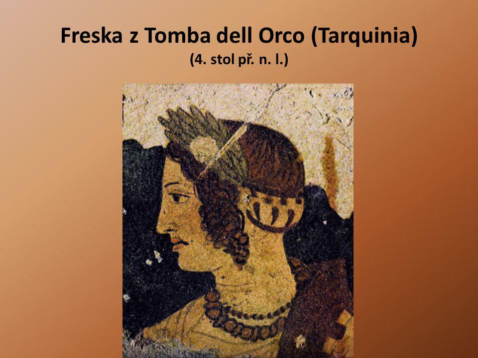 Freska z Tomba dell Orco (Tarquinia) (4. stol př. n. l.)