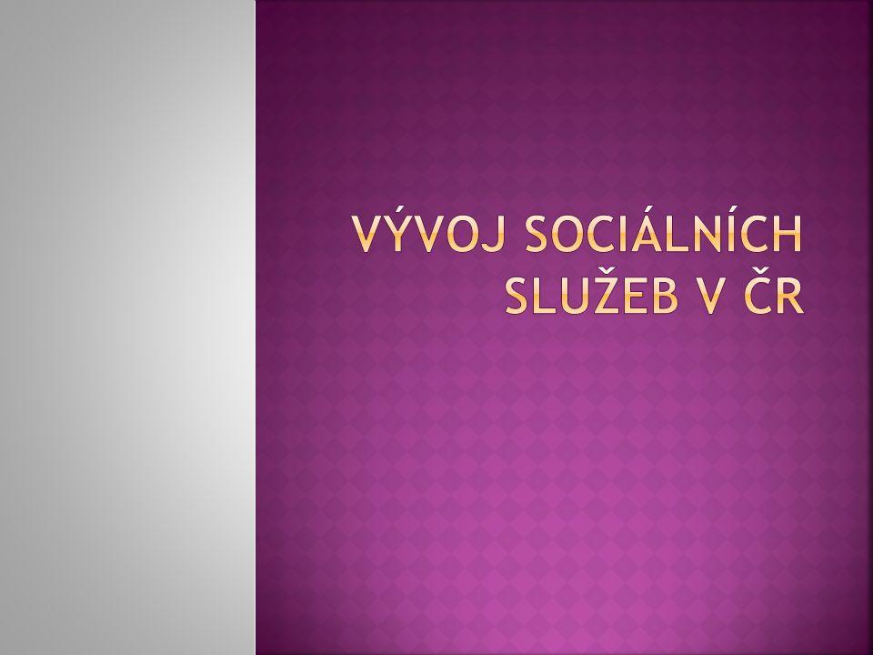  Vývoj sociálních služeb v meziválečném období  Sociální služby v kontextu sociálního státu  Sociální služby v tzv.