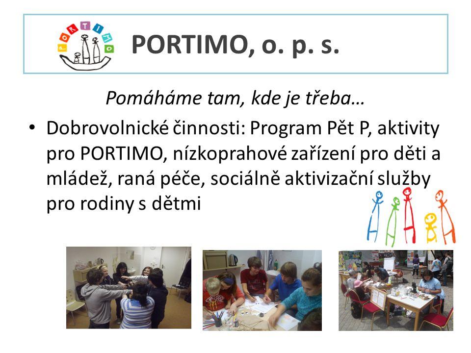 PORTIMO, o. p. s.
