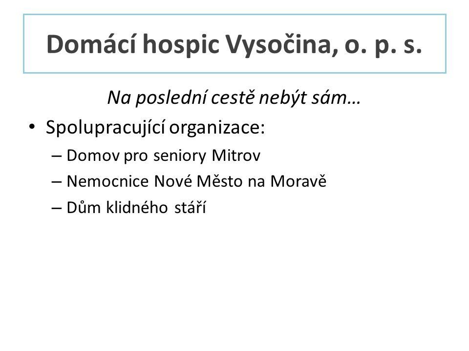 Domácí hospic Vysočina, o. p. s.