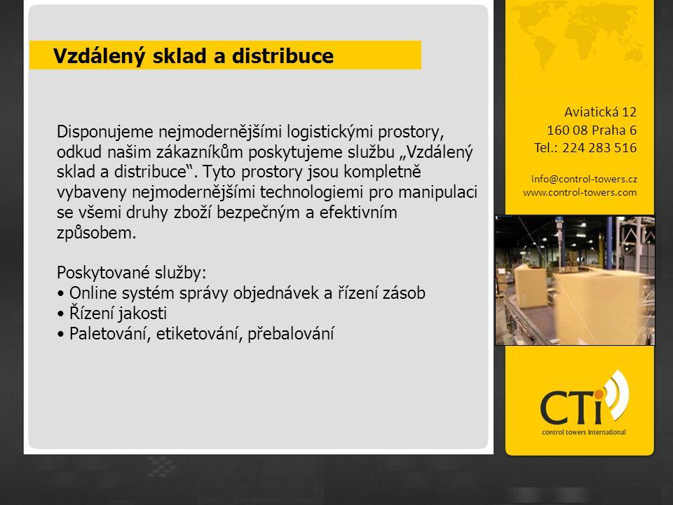 """Disponujeme nejmodernějšími logistickými prostory, odkud našim zákazníkům poskytujeme službu """"Vzdálený sklad a distribuce"""". Tyto prostory jsou komplet"""