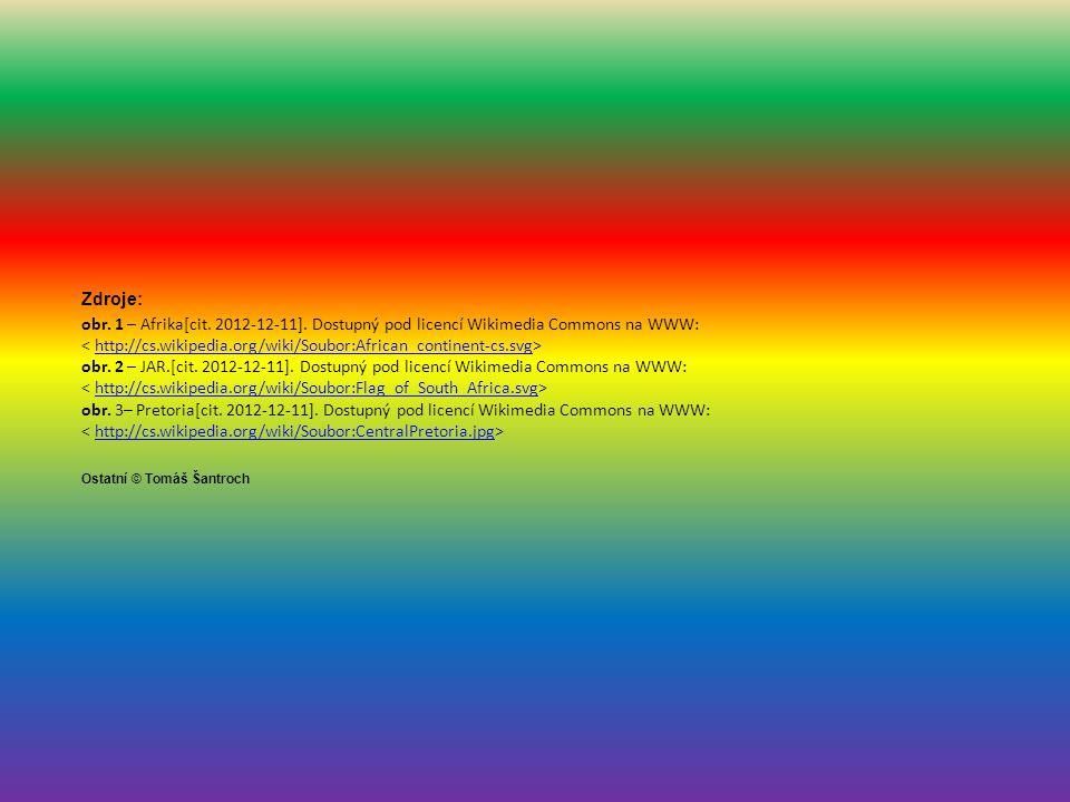 Zdroje: obr.1 – Afrika[cit. 2012-12-11].