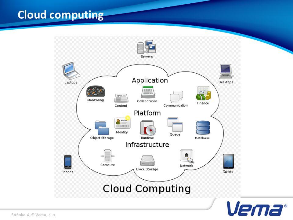 Stránka 4, © Vema, a. s. Cloud computing