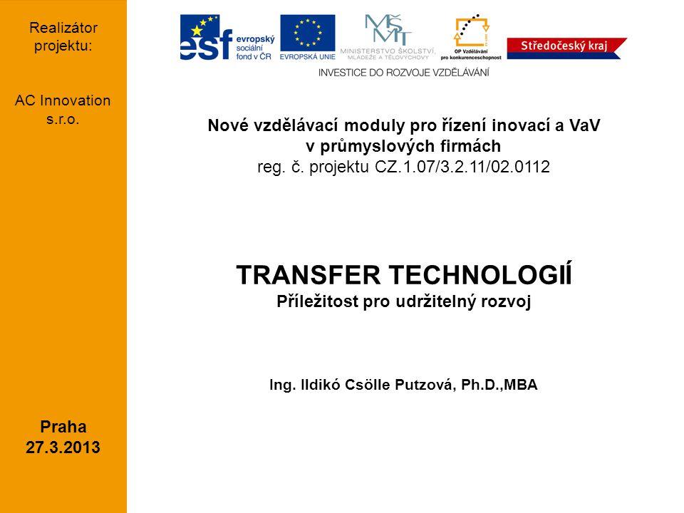 strana 2AC Innovation s.r.o. AGENDA