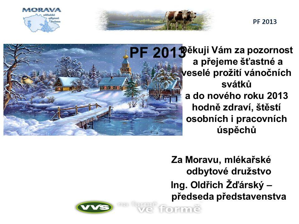 Za Moravu, mlékařské odbytové družstvo Ing.
