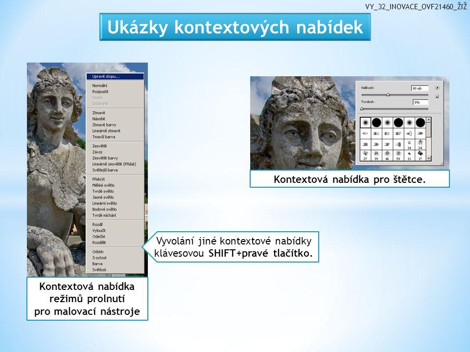 VY_32_INOVACE_OVF21460_ŽIŽ Kontextová nabídka pro štětce.