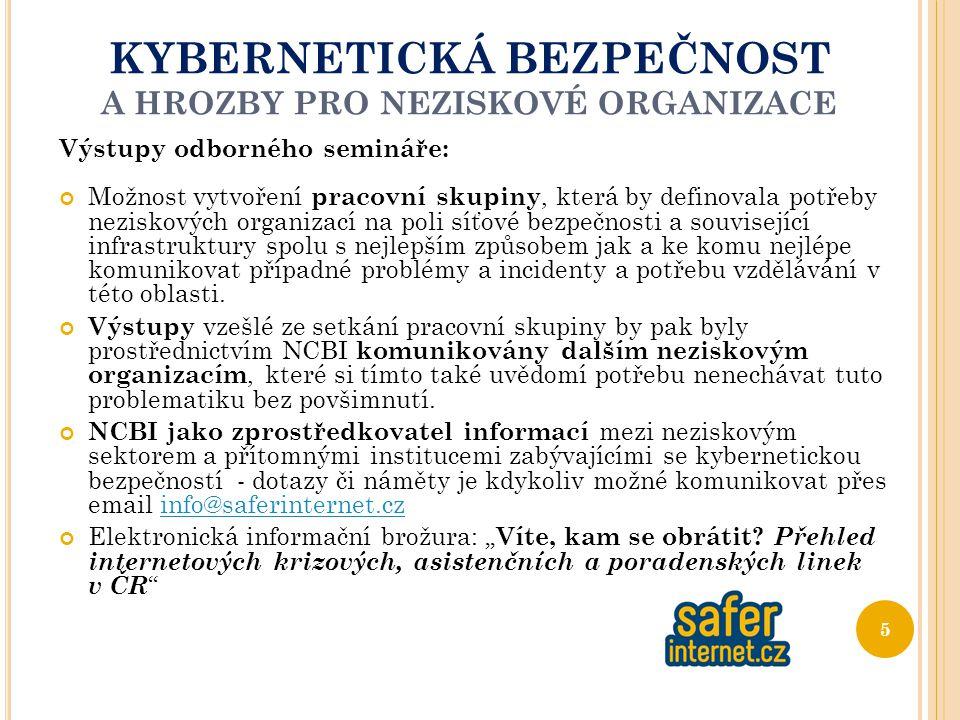 O NLINE BEZPEČNOST VYŽADUJE I VAŠI ÚČAST .D ĚKUJI ZA POZORNOST Šárka Soudková, Ph.D.