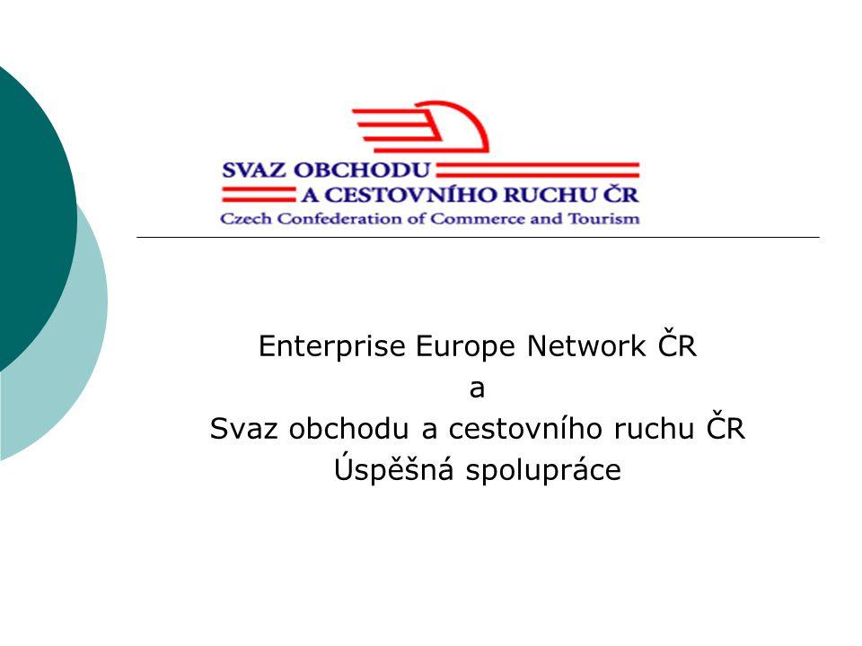 Úspěšná spolupráce – lepší uplatnění na jednotném trhu Svaz obchodu a cestovního ruchu ČR : - založen v r.