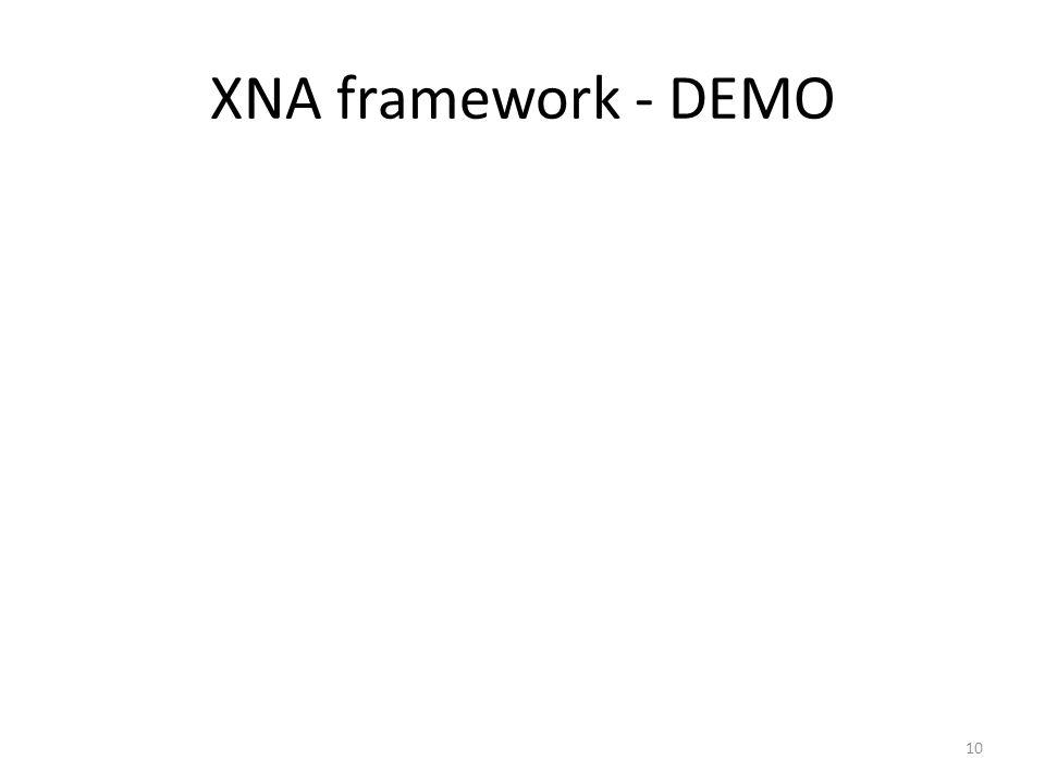 XNA framework - DEMO 10