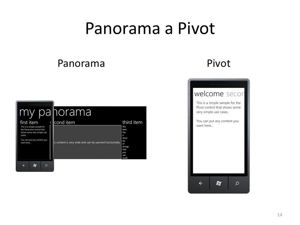 Panorama a Pivot PanoramaPivot 14