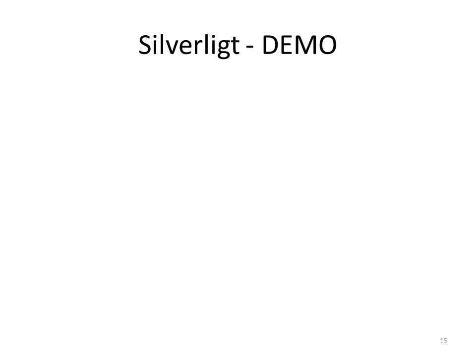 Silverligt - DEMO 15