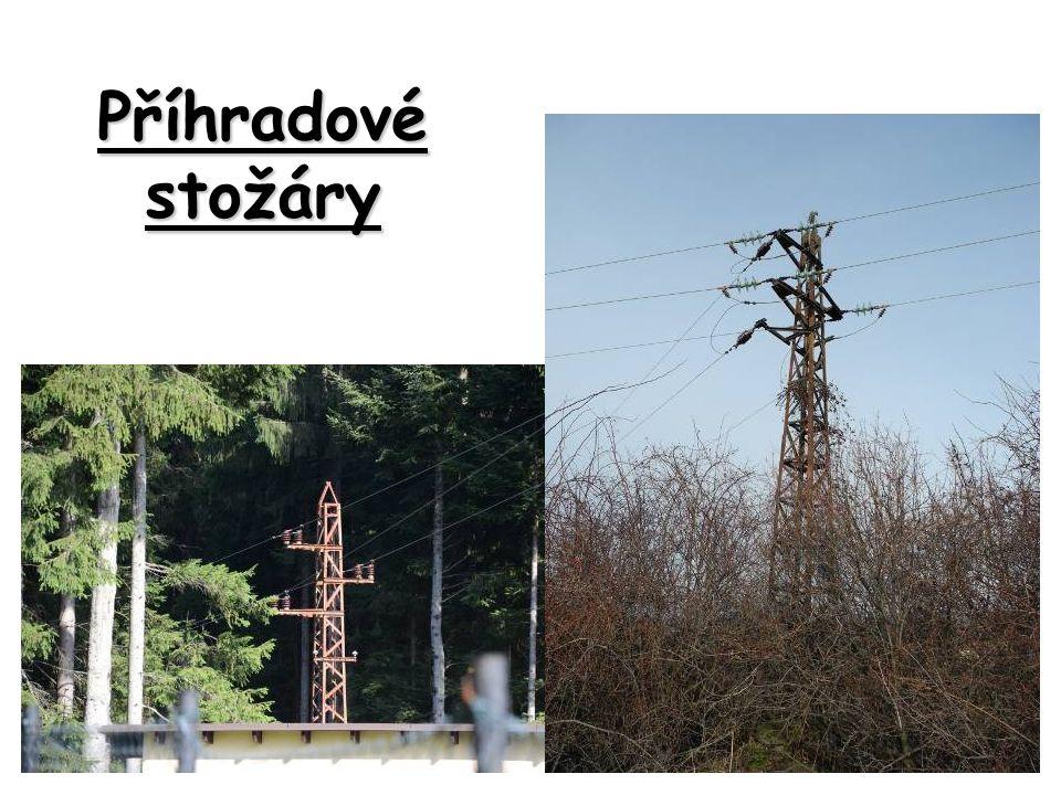 Příhradové stožáry