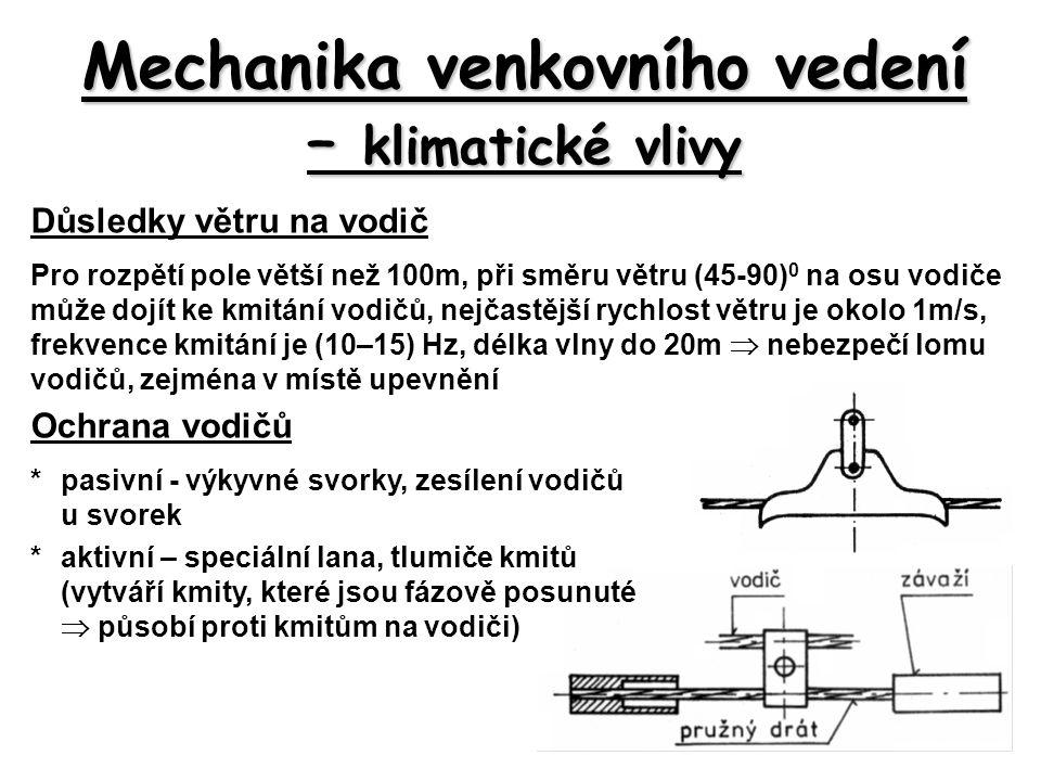 Podpěrné body Rozdělní podle použití a mechanického namáhání: N-nosné (základní, pro přímá vedení) KN-křižovatkové nosné (křížení vedení) V-výztužné (vyšší mechanické namáhání) KV-křižovatkové výztužné R-rohové (zákruty vedení) RV-rohové výztužné (vyšší mechanické namáhání) O-odbočné (odbočka na vedení) OV-odbočné výztužné (větší mechanické namáhání) Ko-koncové Rozdělní podle konstrukce: J-dřevěné nepatkové Jp-dřevěné patkové EVP-betonové -příhradové