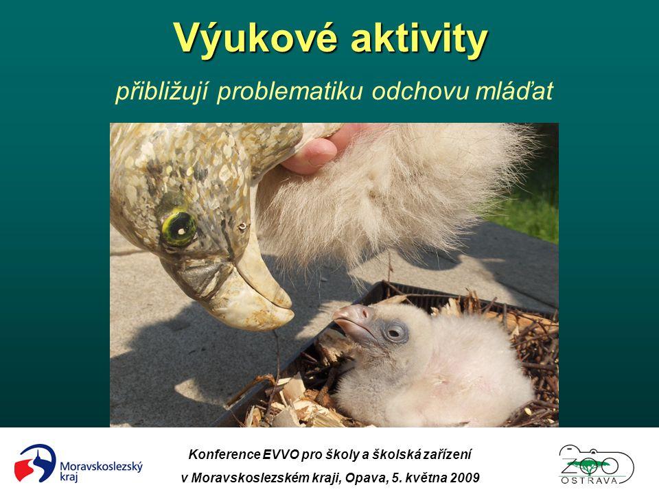 Konference EVVO pro školy a školská zařízení v Moravskoslezském kraji, Opava, 5. května 2009 Výukové aktivity Výukové aktivity přibližují problematiku