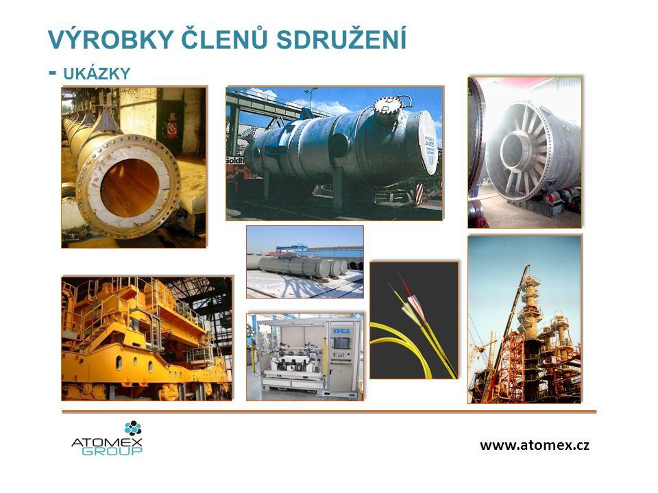 VÝROBKY ČLENŮ SDRUŽENÍ - UKÁZKY www.atomex.cz