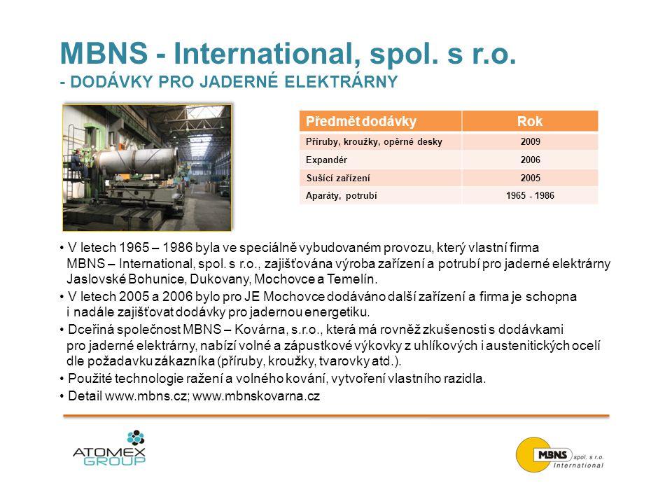 MBNS - International, spol.s r.o.