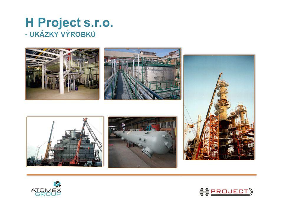 H Project s.r.o. - UKÁZKY VÝROBKŮ