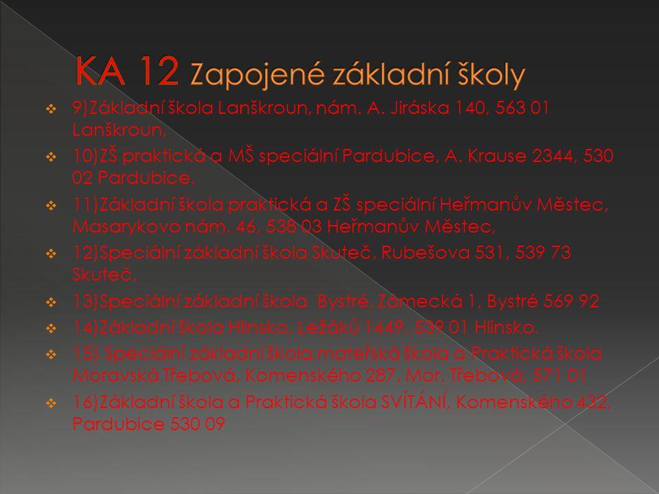  9)Základní škola Lanškroun, nám. A.