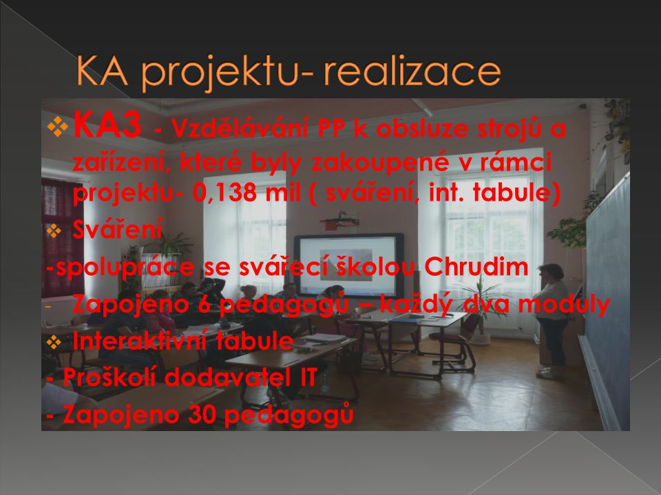  KA5 - Celoroční pravidelně se opakující volnočasové aktivity, zaměřené na přírodovědné a technické vzdělávání žáků SŠ – 0,145 mil