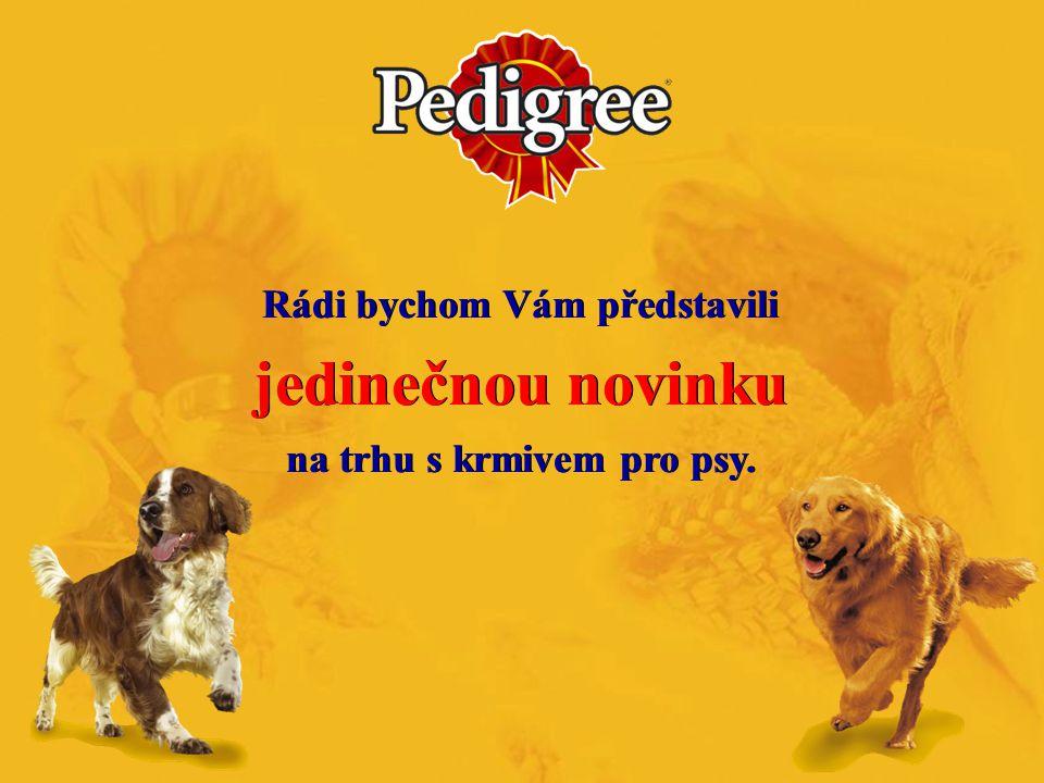 Rádi bychom Vám představili jedinečnou novinku na trhu s krmivem pro psy. Rádi bychom Vám představili jedinečnou novinku na trhu s krmivem pro psy.