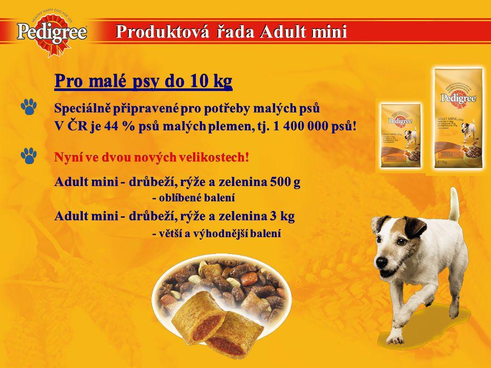 Produktová řada Adult mini Adult mini - drůbeží, rýže a zelenina 500 g - oblíbené balení Adult mini - drůbeží, rýže a zelenina 500 g - oblíbené balení