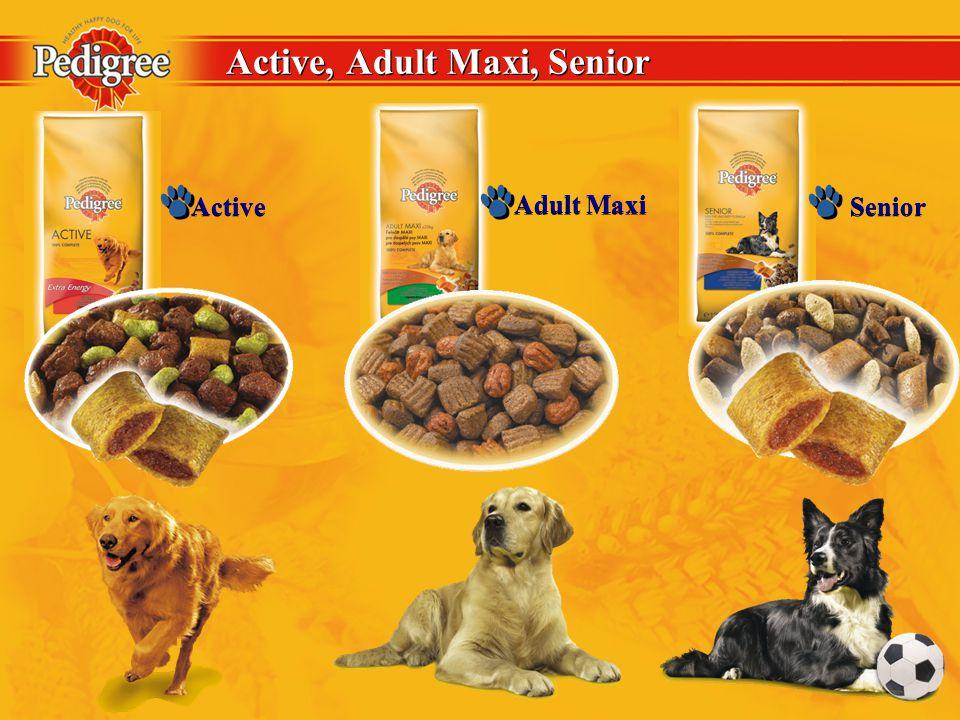 Active, Adult Maxi, Senior Active Adult Maxi Senior