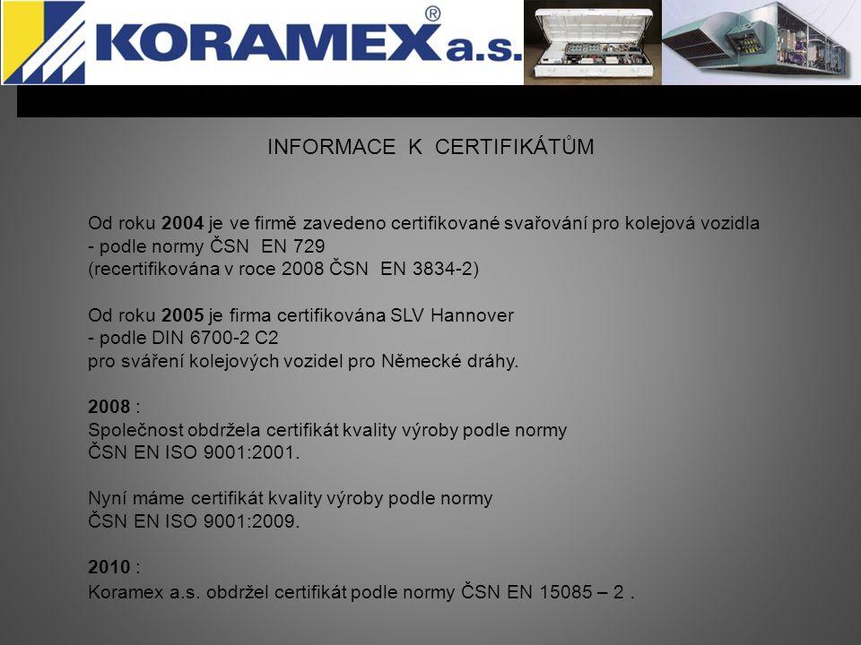 Pracoviště (provozovny) Kovovýrobu provádíme v těchto střediscích - Sušice, Tedražice a Čejkovy.