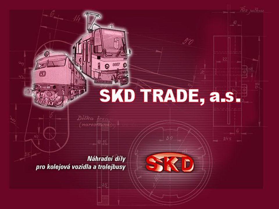 Profil společnosti: SKD TRADE: -akciová společnost, 100% akcií Ing.