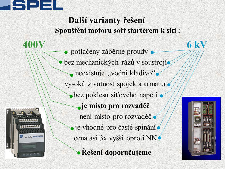 Soft startér SMC Dialog Plus - Monitorování • Proudy ve 3 fázích • Napětí ve 3 fázích • Výkon v kW • Spotřeba v kWh • Tepelná ochrana motoru • Účiník spuštěného motoru • Celkovou dobu provozu motoru KOMUNIKACE