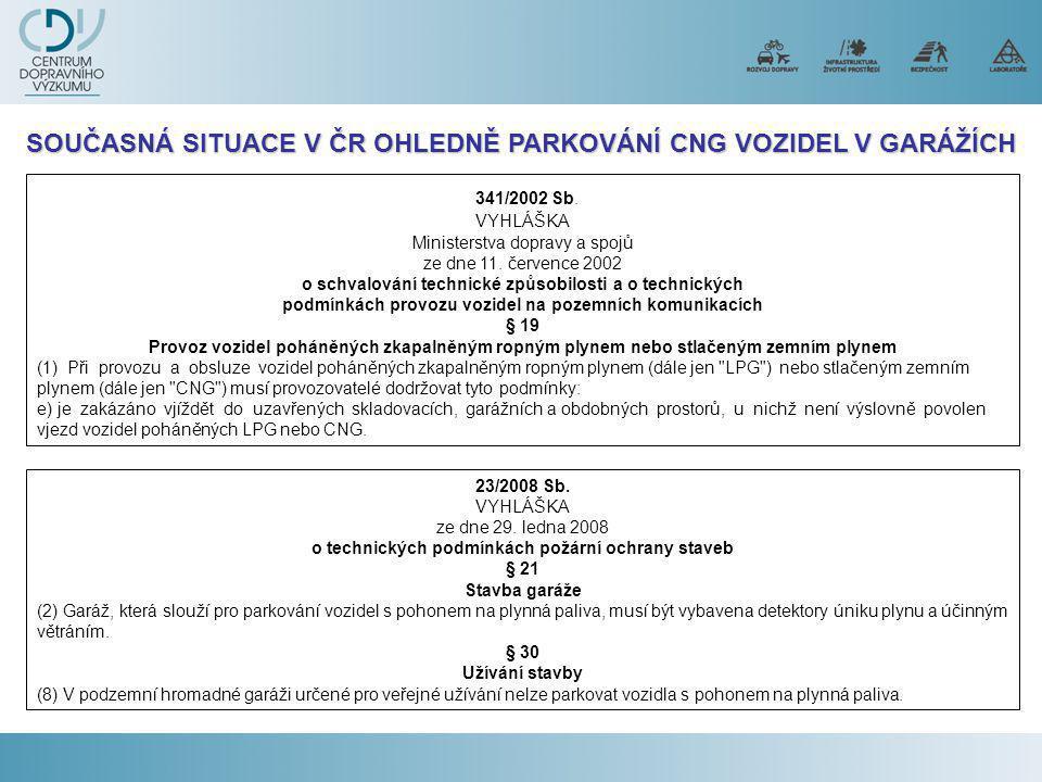 341/2002 Sb.VYHLÁŠKA Ministerstva dopravy a spojů ze dne 11.