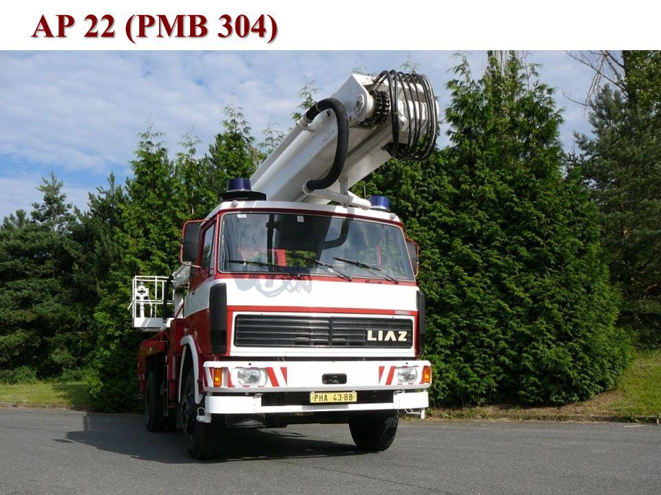 Technické vybavení •AP 22 LIAZ (PMB 304) –v nejbližší době je plánována obnova laku, –je určeno pro přepravu skupiny 1+1, –max.