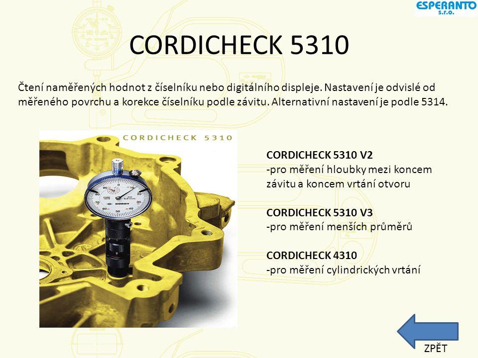 Tloušťkoměry - Cordix Tuhý rám vyrobený ze speciální lehké slitiny, ergonomický a lehký do ruky, což vede k eliminaci únavy obsluhy.