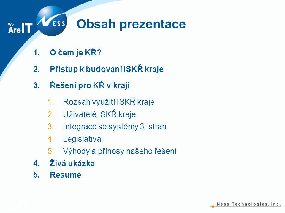 Obsah prezentace 1.O čem je KŘ.