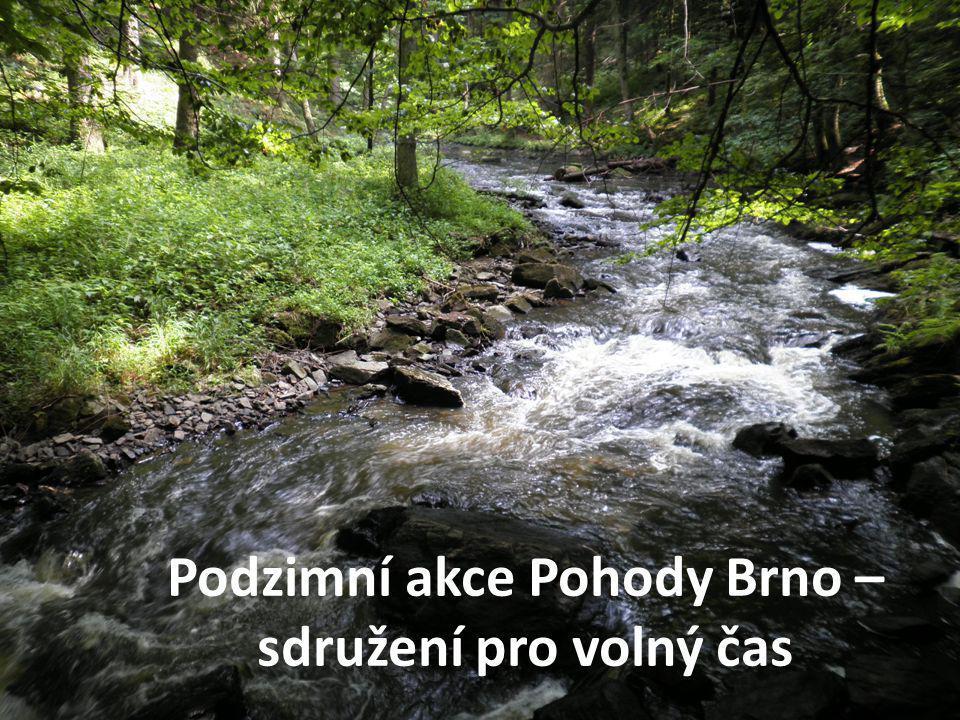 Podzimní akce Pohody Brno – sdružení pro volný čas