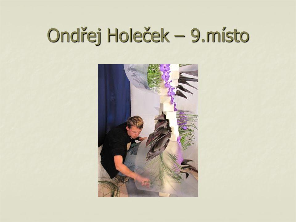 Ondřej Holeček – 9.místo